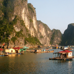 Halong Bay and the Red River - Halong Bay to Viet Tri (10 Nights)